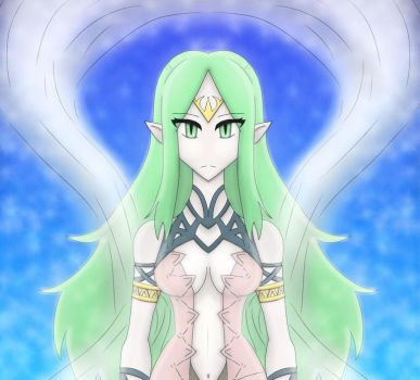 Naga the Divine Dragon - Fire Emblem - Cropped by XFuyu-YumeX