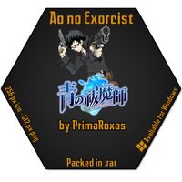 Ao no Exorcist Icon for WIndows by PrimaRoxas