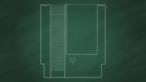 NES Cartridge [Chalkboard] by BLUEamnesiac