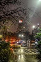 Bucharest - Late Hour by Rikitza