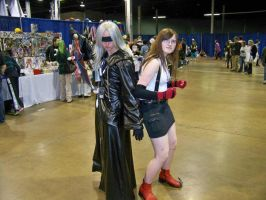 ^tifa and riku^ by theporcelainnitemare