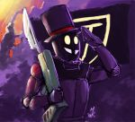 Superjail Trooper by Uniformshark
