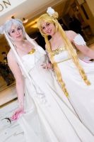 Katsucon Queen and Princess Serenity by Amishanda