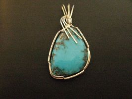 love this turquoise cab by DPBJewelry