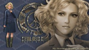 MGS PeaceWalker - Paz - PSP by iFab