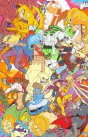 Darkstalkers Tribute by reyyyyy
