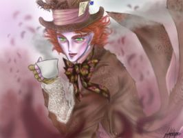 The Mad Hatter by Leyla-Lovely