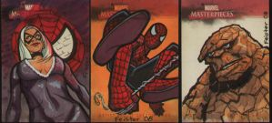 Marvel Masterworks I AP cards by gatchatom