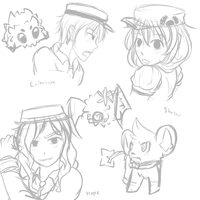 CB Trainer Doodles by Shrew-WiFi