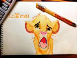 The Lion King - Simba by LuLuChan666
