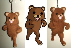 Pedobear Plush by Meowchee