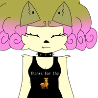 Thanks For The Llama by Chezy-G