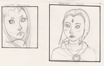 WIP Raven and StarFire portraits by Raven-Lore
