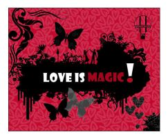 Love is magic. by Amanious