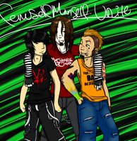 FSMS-Unite - Trio of Trouble by Analeptic-Aesthetic