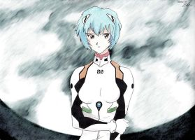Rei Ayanami Fan-art by cynthi-dm