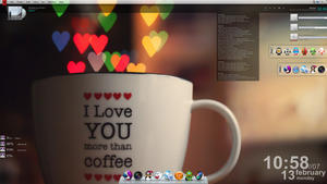 Tema para Windows 7 I love your simplicity by 117fausto