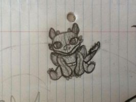 Toothless build a bear doodle by Dragonnerd906