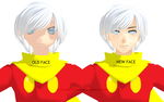 MMD Cyborg 009 - NEW FACE vs OLD FACE by InvaderBlitzwing
