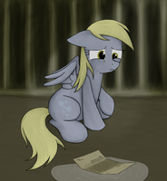 Derpy's Letter (2013 'save Derpy' picture) by Natsu714