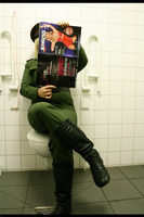 Raikov Cosplay Toilet fun by Moin2D
