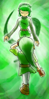 Forest Sage Saria appears by Nenilein