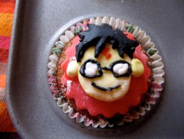 Potter Puppet Pals Harry Cake by Pigeons-and-Chives