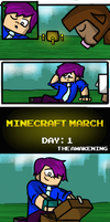 Minecraft March #2 : The Awakening by KuukyTrooper