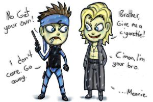 Solid and Liquid Snake by ISZK-tv