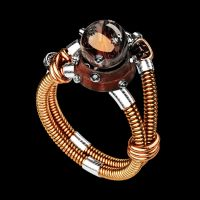 Steampunk ring by MikeeRice