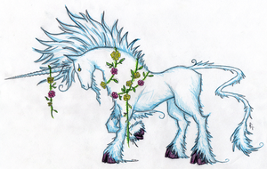 Sylvan Unicorn by Starylon