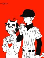 Zacharie/Batter by Claireybeary69