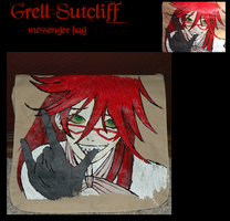 Grell Sutcliff Messenger Bag by bringsnacks