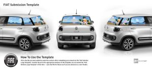 Fiat Entry 4: Seascape and Orange Blossoms by GainesHall