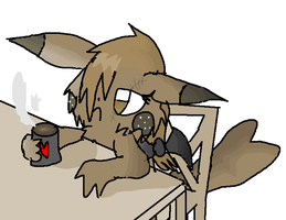 Art Trade - COFFEE. by xXDodem-DemonicXx