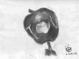 IOU Apple (2013) by weivienne
