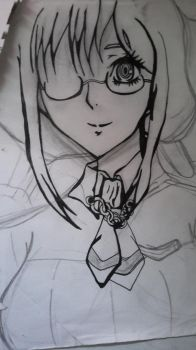 not done yet from Anime Blood C by SuperAwesomeFangirl