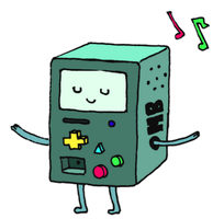 Beemo dancing by pokercake