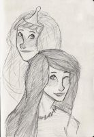 PB and Marceline by PrillaLightfoot