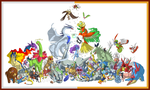 Every Second Generation Pokemon! by Speras