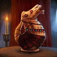 Potion of Zancor by pinkhavok