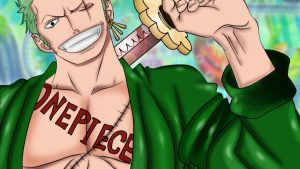 Zoro New World by Yagaara