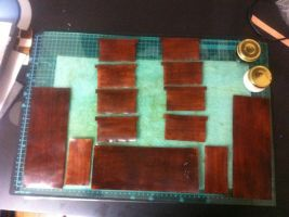 Leather Wallet Step 1 by battosai1976