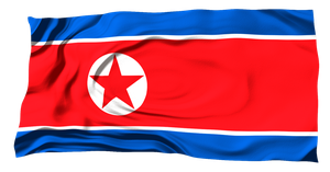 Flags of the World: North Korea by MrAngryDog
