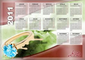 Aranypart Calendar 2011 by anone52