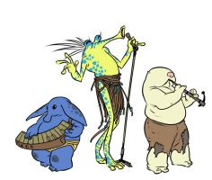 Max Rebo Band by mooncalfe