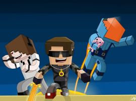SkyDoesMinecraft MinecraftUniverse and Deadlox by IshmanAllenLitchmore