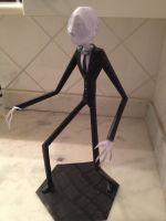 Slenderman Papercraft by burps20