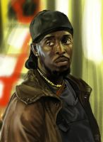omar little (the wire) by lownlymusic