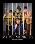 My Pet Monkees by Jellybabiebunny